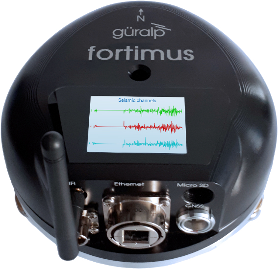 Guralp Fortimus strong motion digital accelerometer